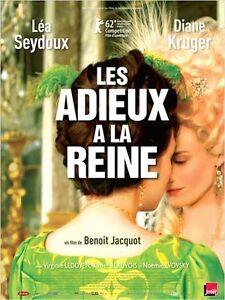 Affiche-120x160cm-LES-ADIEUX-A-LA-REINE-2012-Lea-Seydoux-Diane-Kruger-NEUVE