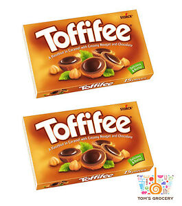 2-x-TOFFIFEE-Caramel-Nougat-amp-Chocolate-Candies-125g-4-4oz