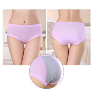 4Color-M-XL-Lady-Menstrual-Period-Underwear-Leakproof-Seamless-Panties-Underpant