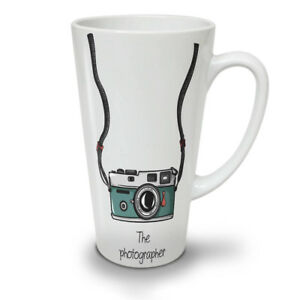Photographer NEW White Tea Coffee Latte Mug 12 17 oz | Wellcoda