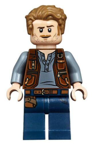 JW023 75935 Owen Grady LEGO NEW MINIFIG Jurassic World