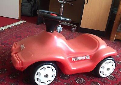 """Spielzeug Kinderfahrzeuge Aktiv Bobby Car """"feuerwehr"""" Mangelware"""