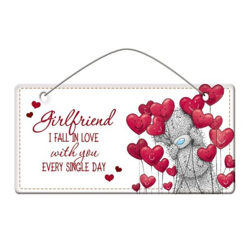 Me to You Girlfriend Plaque Tatty Teddy Bear