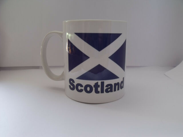 Personalised Scotland Mug great gift idea for a birthday