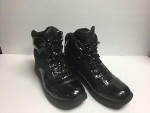 69f98244988 Details about Thorogood 831-6833 USA Patent Leather Non Slip Training Work  Boots Mens US 11.5W