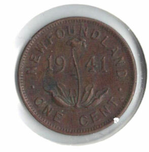 Newfoundland Coins - 1941C Newfoundland small cent   #839