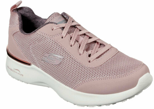 Skechers Skech Air Dynamight Damen Sneakers Turnschuhe 12947 Mve Rosa Mauve Neu