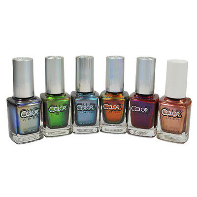 Color Club Nail Polish Lacquer Oil Slick Collection 0.5floz Choose Any 1 Color