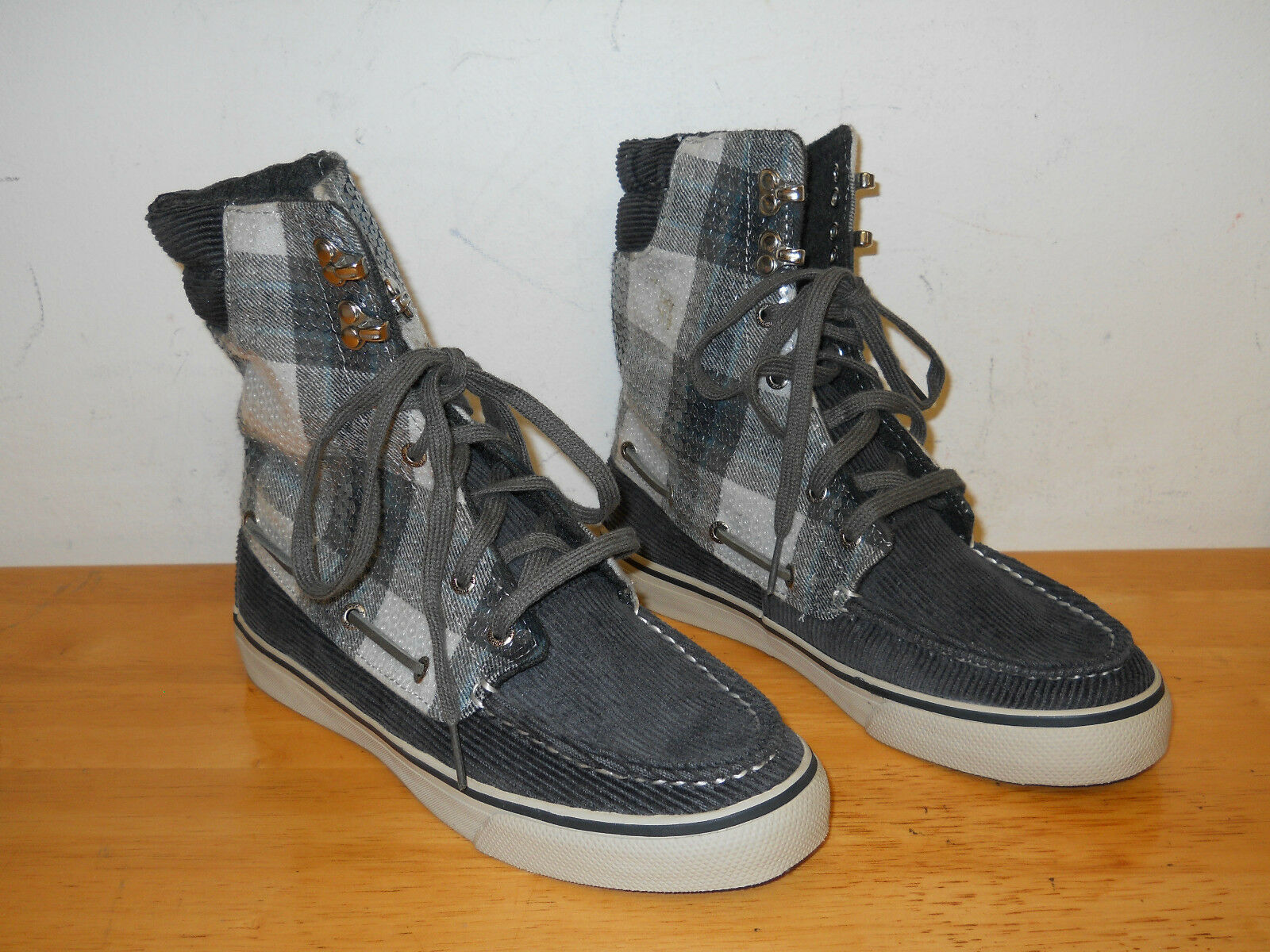 Sperry Top Sider New Femme Acklins Hi Top Sneakers 6 M Chaussures NWOB