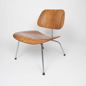 Image Is Loading Rare Eames Herman Miller Early 1950s Walnut LCM