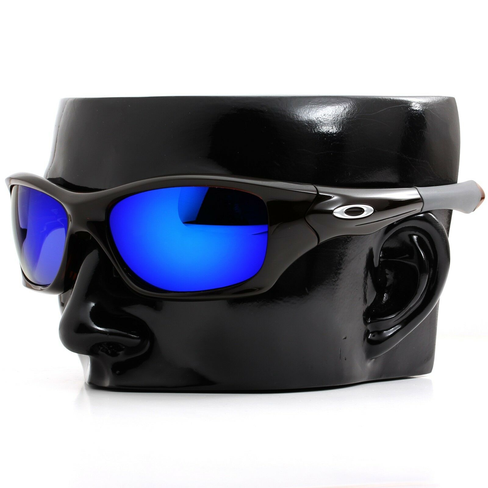 1e57265051 Polarized IKON Iridium Replacement Lenses For Oakley Pit bull Deep Blue  Mirror