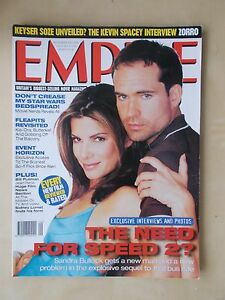 Details about EMPIRE FILM MAGAZINE No 99 SEPTEMBER 1997 THE NEED FOR SPEED 2