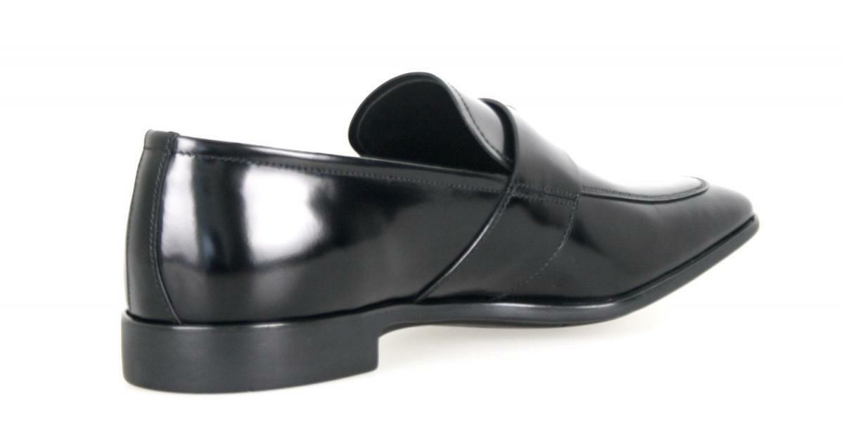 LUXUS PRADA 2DC116 BUSINESS SCHUHE PENNY LOAFER 2DC116 PRADA SCHWARZ NEU NEW 9 43 43,5 15ecc1
