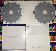 Apple MacBook Full Install & Applications DVDs OS X 10.6 Snow Leopard MC207LL/A