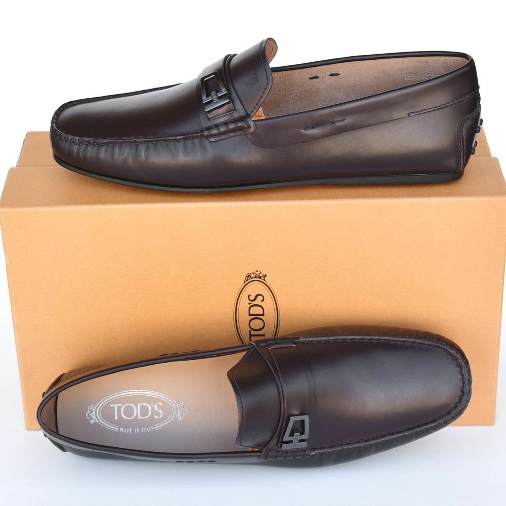 Scarpe casual da uomo  TOD'S Tods New sz US 7 Designer uomos Drivers Loafers Shoes brown