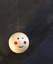 Smiley Face Doll Wooden Beads Craft Round Head Loose Jewelry Accessories Bright