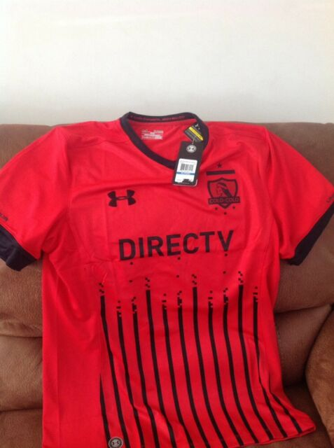 under armour Colo Colo de chile red soccer jersey new with tags size XL mens d309de9d7