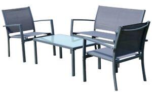 Sitzgruppe Gartengarnitur Gartenset Gartenlounge Casaya Tisch 2
