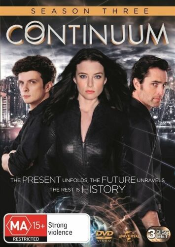 1 of 1 - Continuum : Series 3 (DVD, 2014, 3-Disc Set) VGC - Pre owned (Box D65)