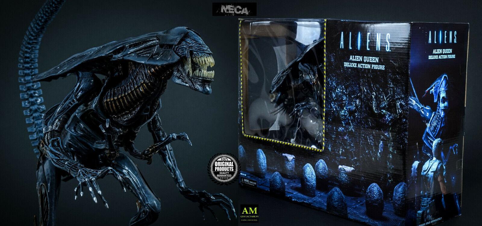 Neca Aliens - Xenomorph Reina Madre - Deluxe Figura de Acción -   Nuevo Ovp