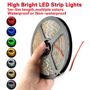 1-5m-Flexible-LED-Strip-Lights-RGB-High-Bright-Fairy-Lamp-3528-5050-for-Xmas-12V