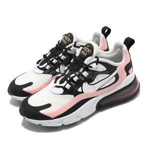 Details about Nike Wmns Air Max 270 React Bleached Coral Black White Women Shoes AT6174 005