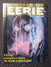 1966 EERIE #4 VF Horror Magazine FRANK FRAZETTA Gene Colan WARREN Horror