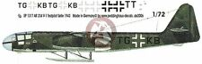 Peddinghaus 1/72 Arado Ar 234 V-1 First Prototype Markings Heinz Selle 1943 1317