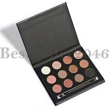Pro 12 Colors Matte Pigment Eyeshadow Palette Cosmetic Makeup Contouring Kit