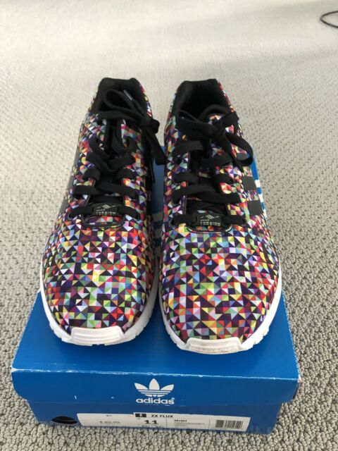 outlet for sale famous brand incredible prices Adidas ZX Flux Multicolor Prism. Men's Shoe Size 11. Pre Owned With Og Box.
