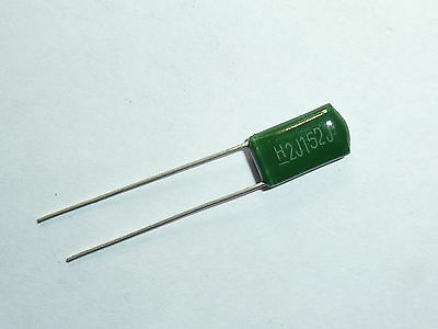 US Stock 10pcs CBB Metallized Film Capacitor 0.0015uf 1.5nf 1500pf 152J 1600V