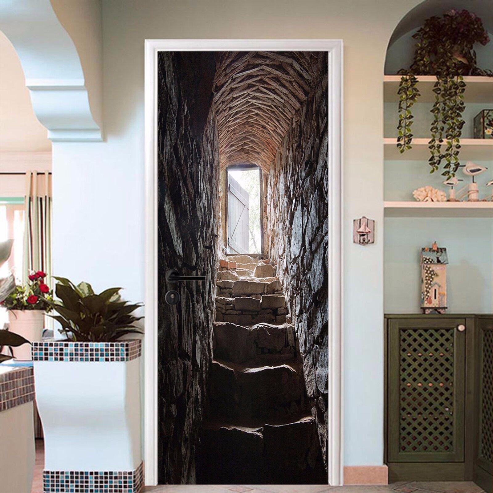 3D Schritte 763 Tür Wandmalerei Wandaufkleber Aufkleber AJ WALLPAPER DE Kyra