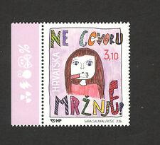 CROATIA-MNH** STAMP-SAY NO TO HATE SPEECH-2016.