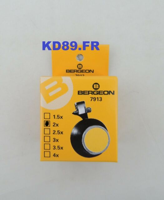 HE7913-2.0 Bergeon 7913 Plastique Horlogers Spectacle Lunettes 5X Mag