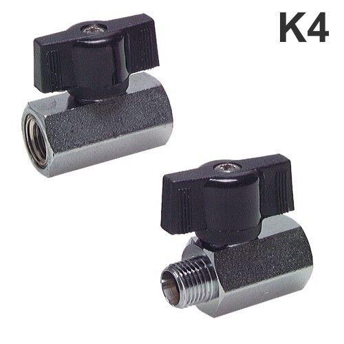 "Kugelhahn Mini Kugelhahn Wasserhahn Druckluft Ventil Knebelgriff G1//8/"" bis G4/"""