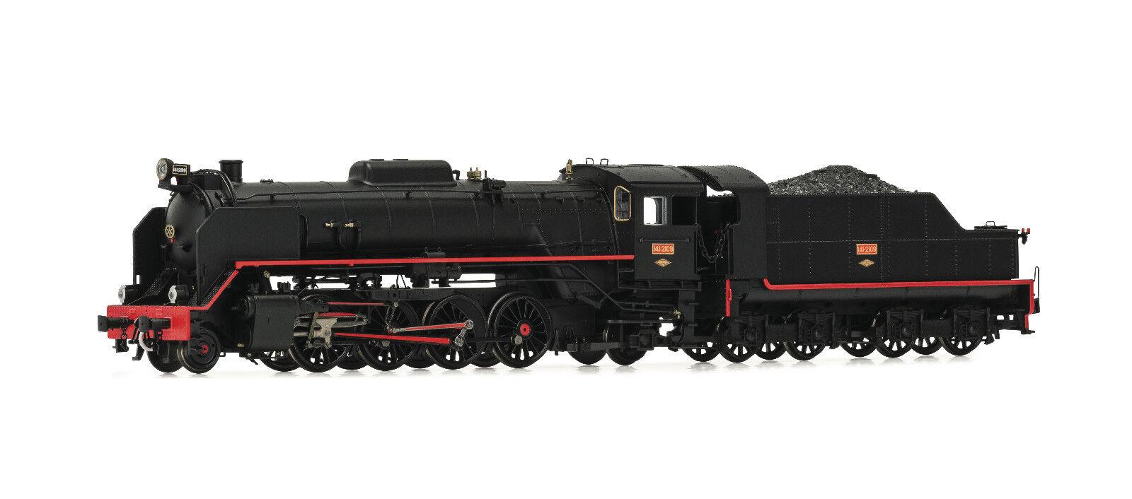 Plancha eléctrica e4156 dampflokomotive Renfe mikado 141 - 2109 ep.iii
