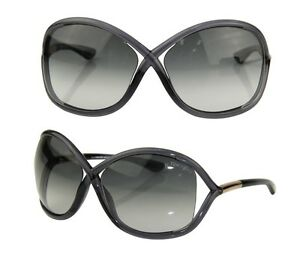 ee0e01265422c0 Authentic Tom Ford FT0009 B5 Whitney Oversized Italy Lens Sunglasses ...