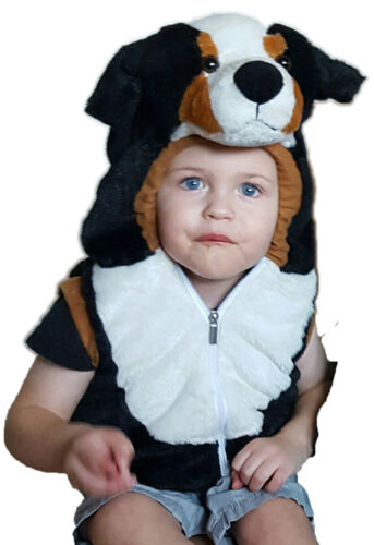 Baby Toddler Plush Animal Halloween Costume Vest NEW Size 18-36 Month Cute Fuzzy
