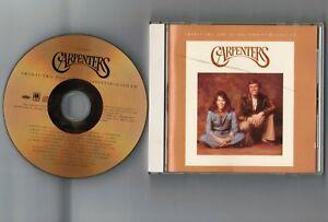 CARPENTERS-22-Hits-of-JAPAN-24k-GOLD-CD-POCM-9022-No-Slip-Case-Cracks-on-case