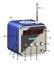 3 in 1 Bluebox Portable Radio Mini speaker Aluminum alloy microSD USB 2.0 3.5mm