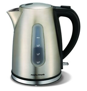 NEW-Morphy-Richards-Stainless-Steel-Accents-1-5L-Jug-Kettle-43902