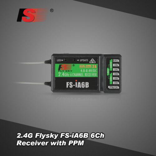 2.4G Flysky FS-iA6B 6Ch Empfänger PPM Ausgang mit iBus Port kompatibel D0M8