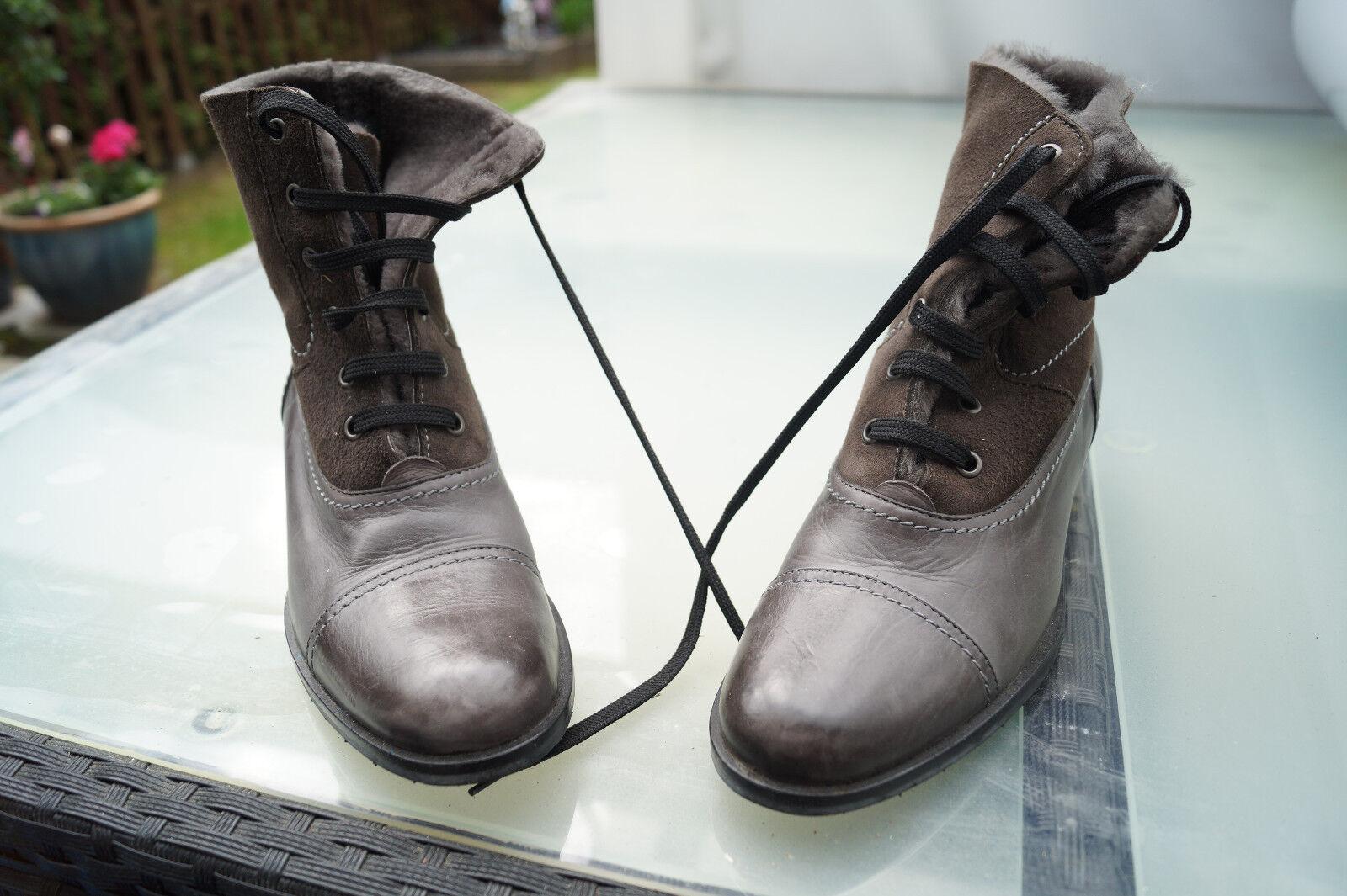 Maripe señora invierno zapatos botas botas botines forro talla talla talla 38 cuero Top  mejor calidad mejor precio