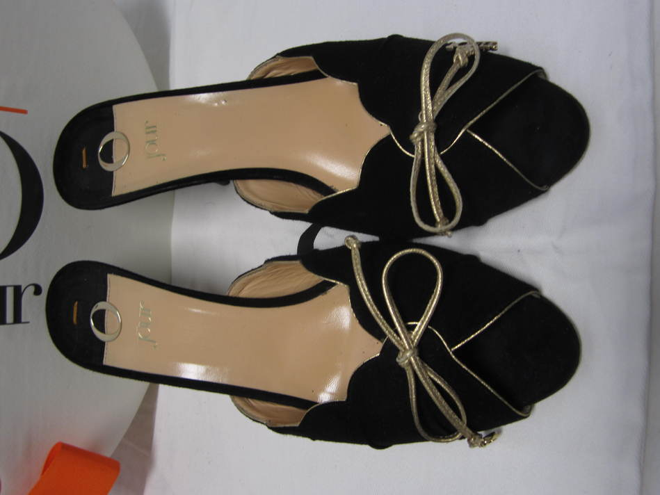 joir Gamuza Vieira 40 Trim mulas Tacones zapatos  40 Vieira 9.5 fabulosa 0c4c9a