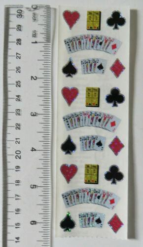 1 Strip Stickers Vintage Very Limited Sandylion BRIDGE PLAYING CARDS