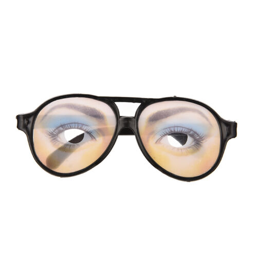 HALLOWEEN PARTY Funny Glasses Fake Novelty Gag Prank Eye Ball Joke Toys CYCA