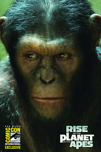 RISE OF THE PLANET OF THE APES SDCC EXCLUSIVE IDW NM.
