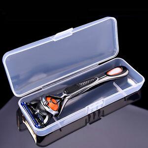 Plastic-Clear-Transparent-Collection-Razor-Container-Case-Storage-Box