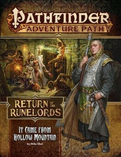 Pathfinder Adventure Path : It Came from Hollow Mountain (Return of the  Runelords 2 Of 6) (2018, Paperback)