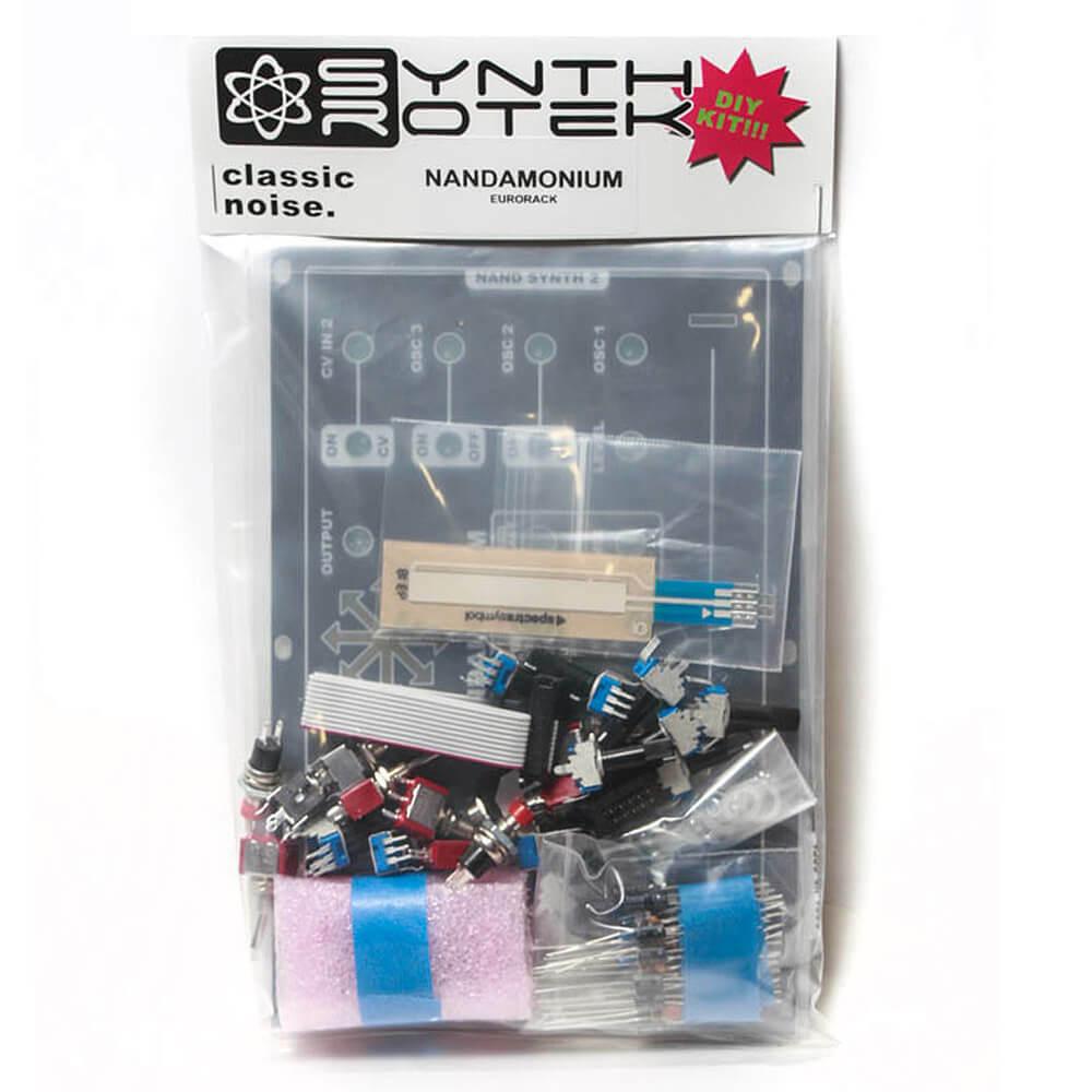 Nandamonium Eurorack Kit - Double Drone with Echo by Synthrotek